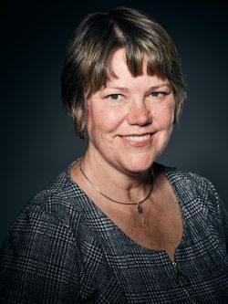 Porträtt av Linda Gerén, utredare